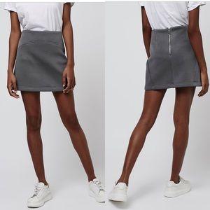 Top shop Punch-Textured Pelmet Skirt